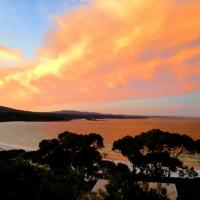 DOLPHIN LOOKOUT COTTAGE - amazing views of the Bay of Fires
