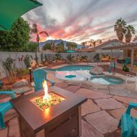 New Listing! Modern Desert Dream W/ Private Pool Home