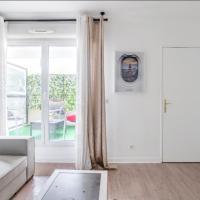 Appartement spacieux avec terrasse près de Paris et du Stade de France