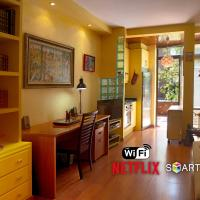 Madrid Centre Studio Apartment with Swimming Pool