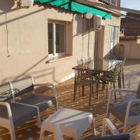 Big terrace and bright penthouse for 6 persons