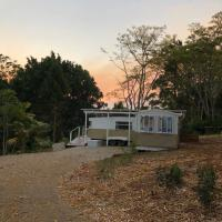 Poppy's Caravan in the Byron Bay hinterland