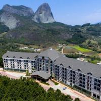 Flat de frente para Pedra Azul - Hotel Bristol
