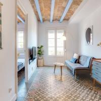 Bright 2bed Apt in Gràcia with great transport links