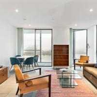 Chic & Modern 1-Bed Apt, w/Balcony nr River Thames