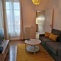 Studio bien placé pour visiter Paris