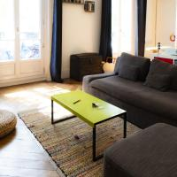 Splendid and spacious apt near La Villette