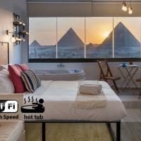 Jacuzzi By The Historic Giza Pyramids - Apartment 4