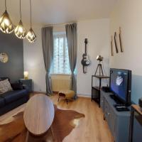 L'OCTAVE Colmar apartment 1 bedroom & living-room