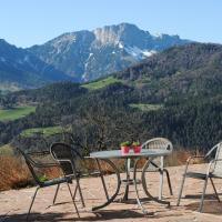 Berghanghäusl mit Terrasse