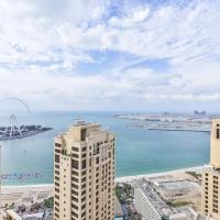 360 Degree Sea View Penthouse with Private Pool & Maid service at JBR