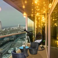 Sea and BurjAlArab View Serviced Apartments -Hilliana Tower