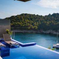 Asos Villa Sleeps 4 with Pool Air Con and WiFi