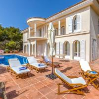 Cala Tarida Villa Sleeps 5 with Pool Air Con and WiFi