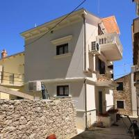 Studio apartment in Susak with balcony, air conditioning, WiFi, dishwasher (3461-3)