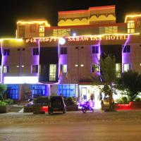 """Sabawyan Hotel Agulae </h2 </a <div class=sr-card__item sr-card__item--badges <div class=sr-card__item__review-score style=padding: 8px 0    </div </div <div data-component=deals-container data-deals="""""""" data-layout=horizontal data-max-elements=3 data-no-tooltips=1 data-use-drawer= data-prevent-propagation=0 class=c-deals-container   <div class=c-deals-container__inner-box    </div </div <div class=sr-card__item   data-ga-track=click data-ga-category=SR Card Click data-ga-action=Hotel location data-ga-label=book_window:  day(s)  <svg aria-hidden=true class=bk-icon -iconset-geo_pin sr_svg__card_icon focusable=false height=12 role=presentation width=12<use xlink:href=#icon-iconset-geo_pin</use</svg <div class= sr-card__item__content   Āgula-e • <span 900 m </span  keskusest </div </div </div </div </div </li <li class=bui-spacer--medium <div id=ski-ufi-compset</div <svg class=bk-icon -iconset-city height=128 style=display:none; width=128 viewBox=0 0 128 128 role=presentation aria-hidden=true focusable=false<path d=M24 88h8v16h-8zm0-16h8V56h-8zm32 32h8V88h-8zm0-32h8V56h-8zm0-32h8V24h-8zm64 16v60a4 4 0 0 1-4 4H12a4 4 0 0 1-4-4V44a4 4 0 0 1 4-4h28V12a4 4 0 0 1 4-4h32a4 4 0 0 1 4 4v58.3l5.2-5.1a4 4 0 0 1 5.6 0l5.2 5.1V56a4 4 0 0 1 .3-1.5l8-20a4 4 0 0 1 7.4 0l8 20a4 4 0 0 1 .3 1.5zM16 112h24V48H16zm32 0h24V16H48v96zm32 0h16V81.7l-8-8-8 8zm32-55.2l-4-10-4 10V112h8z/</svg <svg class=bk-icon -streamline-arrow_nav_left height=24 style=display:none; width=24 viewBox=0 0 24 24 role=presentation aria-hidden=true focusable=false<path d=M14.55 18a.74.74 0 0 1-.53-.22l-5-5A1.08 1.08 0 0 1 8.7 12a1.1 1.1 0 0 1 .3-.78l5-5a.75.75 0 0 1 1.06 0 .74.74 0 0 1 0 1.06L10.36 12l4.72 4.72a.74.74 0 0 1 0 1.06.73.73 0 0 1-.53.22zm-4.47-5.72zm0-.57z/</svg <svg class=bk-icon -streamline-arrow_nav_right height=24 style=display:none; width=24 viewBox=0 0 24 24 role=presentation aria-hidden=true focusable=false<path d=M9.45 6c.2 0 .39.078.53.22l5 5c.208.206.323.487.32.78a1.1 1.1 0 0 1-.32.78l-5 5a.75."""