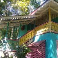 Casa turquesa