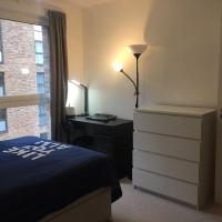 Double room with Gym and business centre in Surrey Quays
