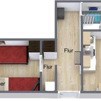 2Rooms flat/center/merto