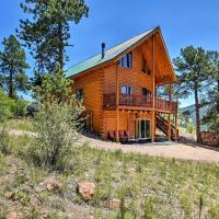 Cripple Creek Cabin w/Wraparound Deck & Mtn Views!