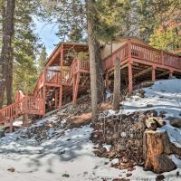 Rustic Cloudcroft Cabin w/Deck-Near Skiing & Fishing!