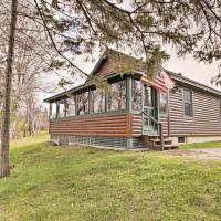 Rustic Rangeley Cabin on Lake w/Porch & Mtn Views!