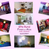 "Gîte Rural Firmin et Alice ""GREEN HOUSE-ECOLO"""
