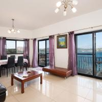 Unique 2 double bed Seafront Apartment - Mellieha Bay
