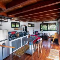 Private tree-top-level palapa, open-plan apartment
