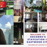 Socorro's Staycation in Eastwood City