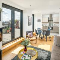 Beautiful 2 bed flat with terrace in East London