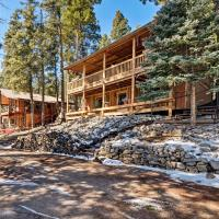 NEW-Cloudcroft Cabin w/Deck in Lincoln Natl Forest