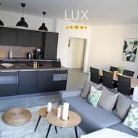 LUX 90m2 Suite - 2 Kingsize Beds - Ulm Center - Netflix - 2min to train - Excellent View