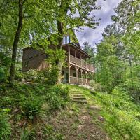 NEW-Blowing Rock Area Cabin w/ 22 Acres & Pavilion