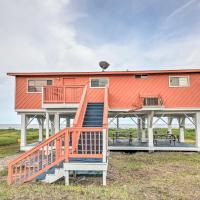 NEW-Beachfront Galveston Home 5Mi to Schlitterbahn