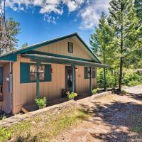 Cabin w/ Deck 3 Mi to Ski Cloudcroft & Hiking