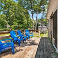 Cape Cod House w/ Deck - 1.8 Mi. to Beach!