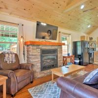 NEW-Tuckaseegee Riverfront Cabin w/Private Hot Tub