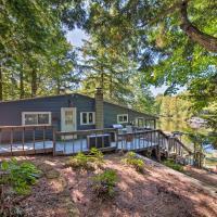 Waterfront Weare Cottage w/ Fire Pit & Kayaks