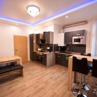Vollmöbliertes modernes Apartment in Citynähe für bis zu 5 Personen