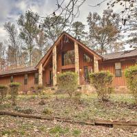 Stone Mtn Retreat w/ Sunken Hot Tub & Sauna!