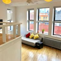 Cozy Modern Loft with Fireplace in West Village