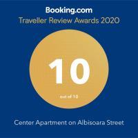 Center Apartment on Albisoara Street