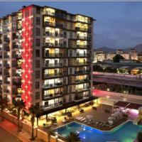 Granada City Alanya Luxury Appartment 800м от пляжа Клеопатра