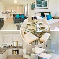 Farnborough Apartment near International Exhibition centre & Air show by SAZ living