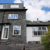 Plumblands magnificent Langdale Fell views in Chapel Stile with private garden