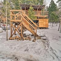 Tree House Bungalow Less Than 3 Mi to Ski Cloudcroft!