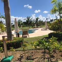 Beautiful One Bedroom unit with pool and Beach club in a Golf Project