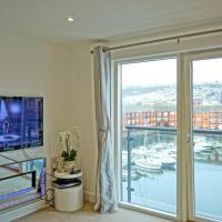 Soak up the Light at a Soothing, Stylish Apartment in Swansea Marina