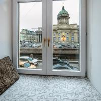 Designer apartment with a view of the Kazan Cathedral